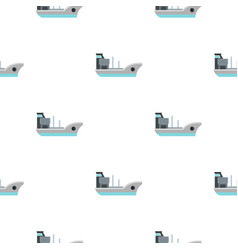 marine ship pattern flat vector image