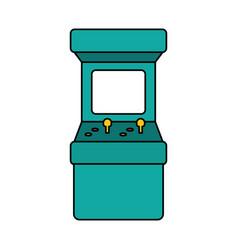 Arcade machine video game vector