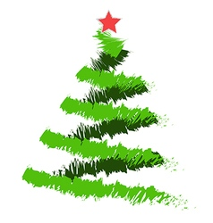 Christmas tree 2 vector