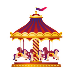 Colorful and bright circus vector