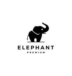 Elephant logo icon vector