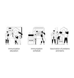 public health program abstract concept vector image