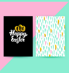 easter 80s funky style posters vector image vector image
