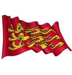 Englands Royal Baner Flag vector image