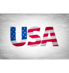 Made in the USA typography design t-shirt vector image