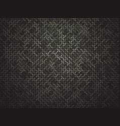 abstract black linking dots background vector image