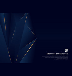Abstract template dark blue luxury premium vector