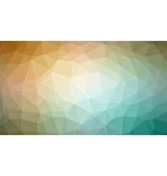 brown green abstract background consisting vector image