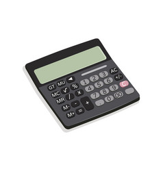 calculator mechanical device vector image