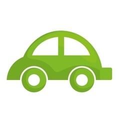 Eco car icon Save energy design graphic vector