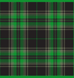 Green and gray tartan plaid scottish pattern vector