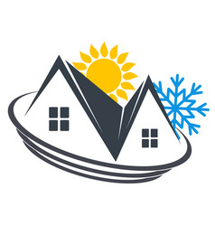 House heating and cooling vector