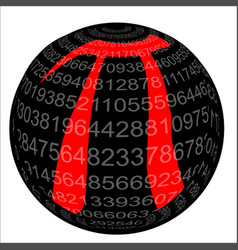 Pi isolated sphere vector