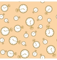 Seamless pattern with watches 573 vector image