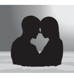 skinny dipping vector image
