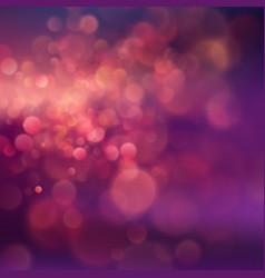 summer pink purple evening sunset defocused vector image