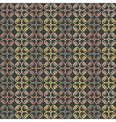 ethnic seamless pattern with symbols vector image vector image