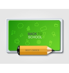 modern back to school background vector image