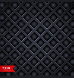 dark diamond shape texture background vector image vector image