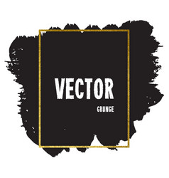 Brush stroke card vector