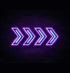 futuristic sci fi modern neon violet glowing vector image