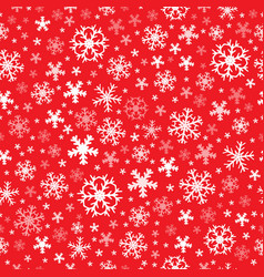 Seamless background snowflakes 7 vector