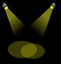 spot light vector image
