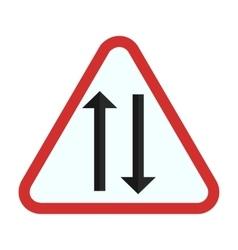 Two way lane vector
