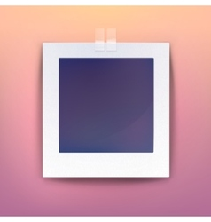 Background for blank picture or photo frame vector image vector image