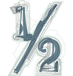 Abstract half sign vector