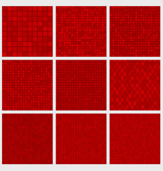 abstract seamless patterns of small elements vector image