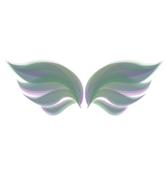 Abstract wings vector