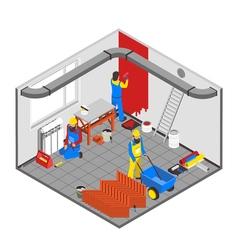 Builder People Concept vector