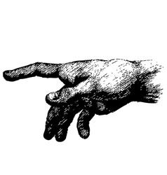Hand 01 vector