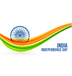 National freedon indian independence day banner vector