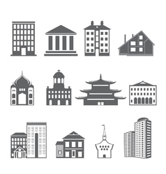 Buildings vector image vector image