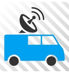 Radio control car eps icon vector