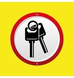 Insurance car keys design icon vector