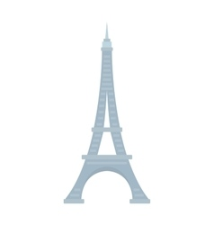 Eiffel Tower Paris France landmark architecture vector image