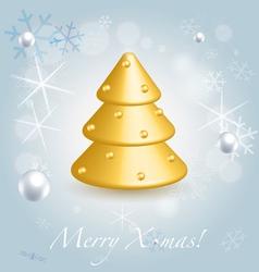 Christmas festive background vector image