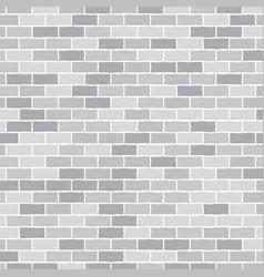 Background Wall of gray bricks Eps 10 vector