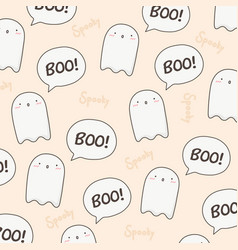 Cute halloween pattern vector
