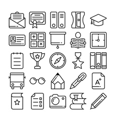 Education Icons 6 vector