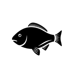 Fish icon vector