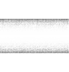 halftone horizontal gradient pattern vector image