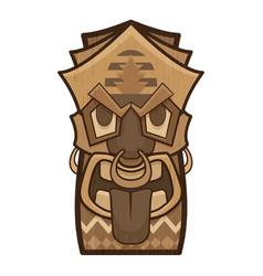 Mask idol icon cartoon style vector