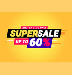 Super sale special offers vector