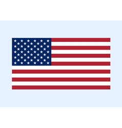 usa flag color clean vector image