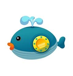 A submarine vector