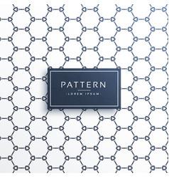 Abstract clean geometric hexagonal shape pattern vector